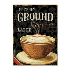 Trademark Fine Art Today's Coffee II Canvas Wall Art