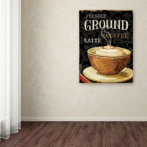 Trademark Fine Art Today's Coffee II Canvas Wall Art