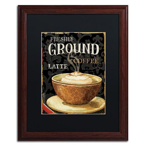Trademark Fine Art Today's Coffee II Matted Framed Wall Art