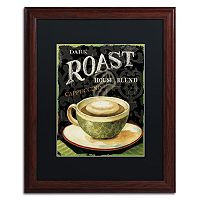 Trademark Fine Art Today's Coffee III Matted Framed Wall Art