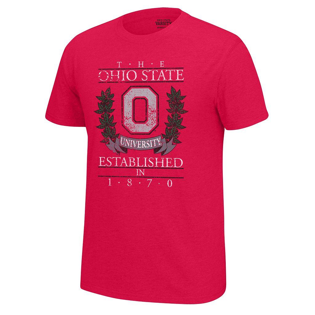 Men's Ohio State Buckeyes Old School Tee