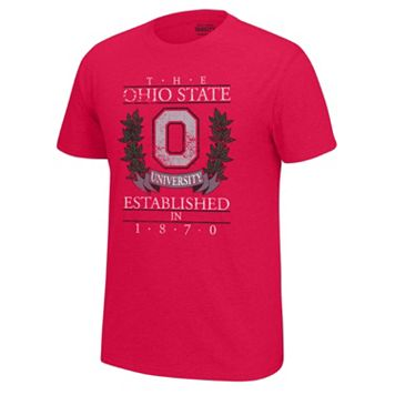 Men's Ohio State Buckeyes Old School Tee