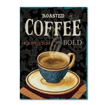 Trademark Fine Art Today's Coffee IV Canvas Wall Art