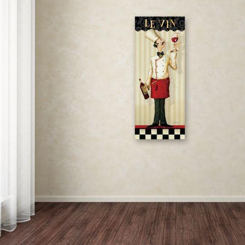 Trademark Fine Art Chef's Masterpiece I Canvas Wall Art
