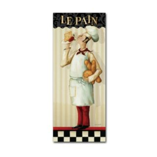 Trademark Fine Art Chef's Masterpiece III Canvas Wall Art