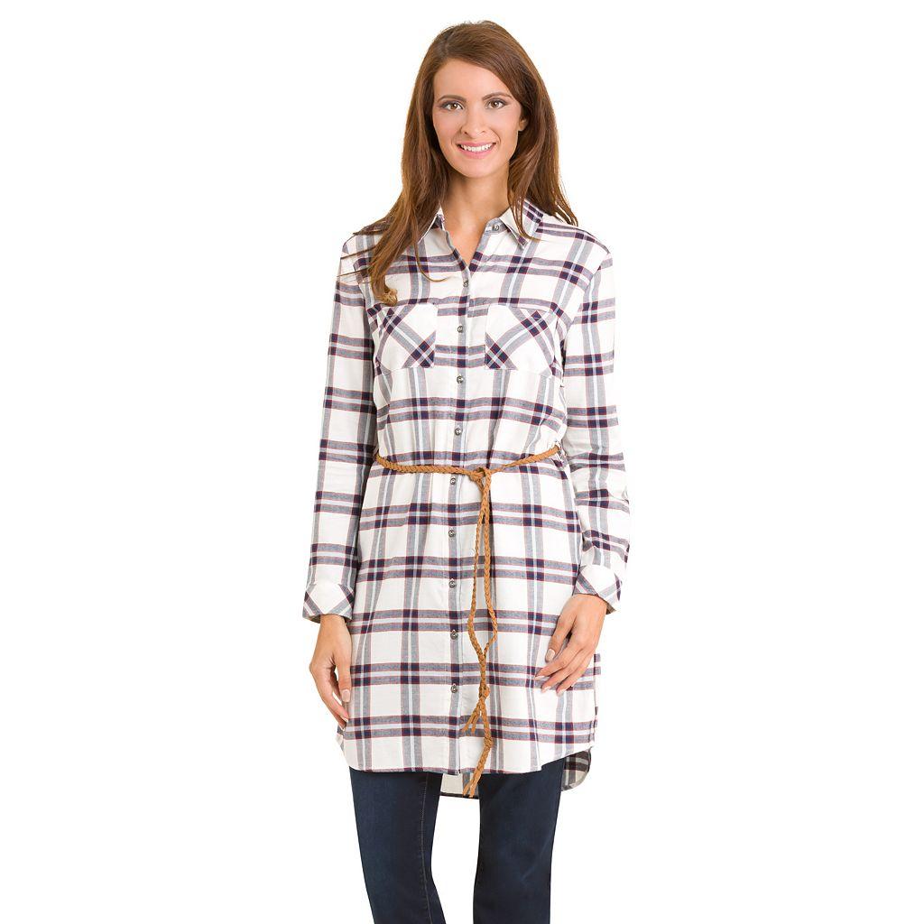 Women's Haggar Belted Shirt Dress
