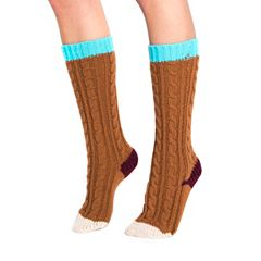 Women's MUK LUKS Color Pop Cable-Knit Knee-High Socks