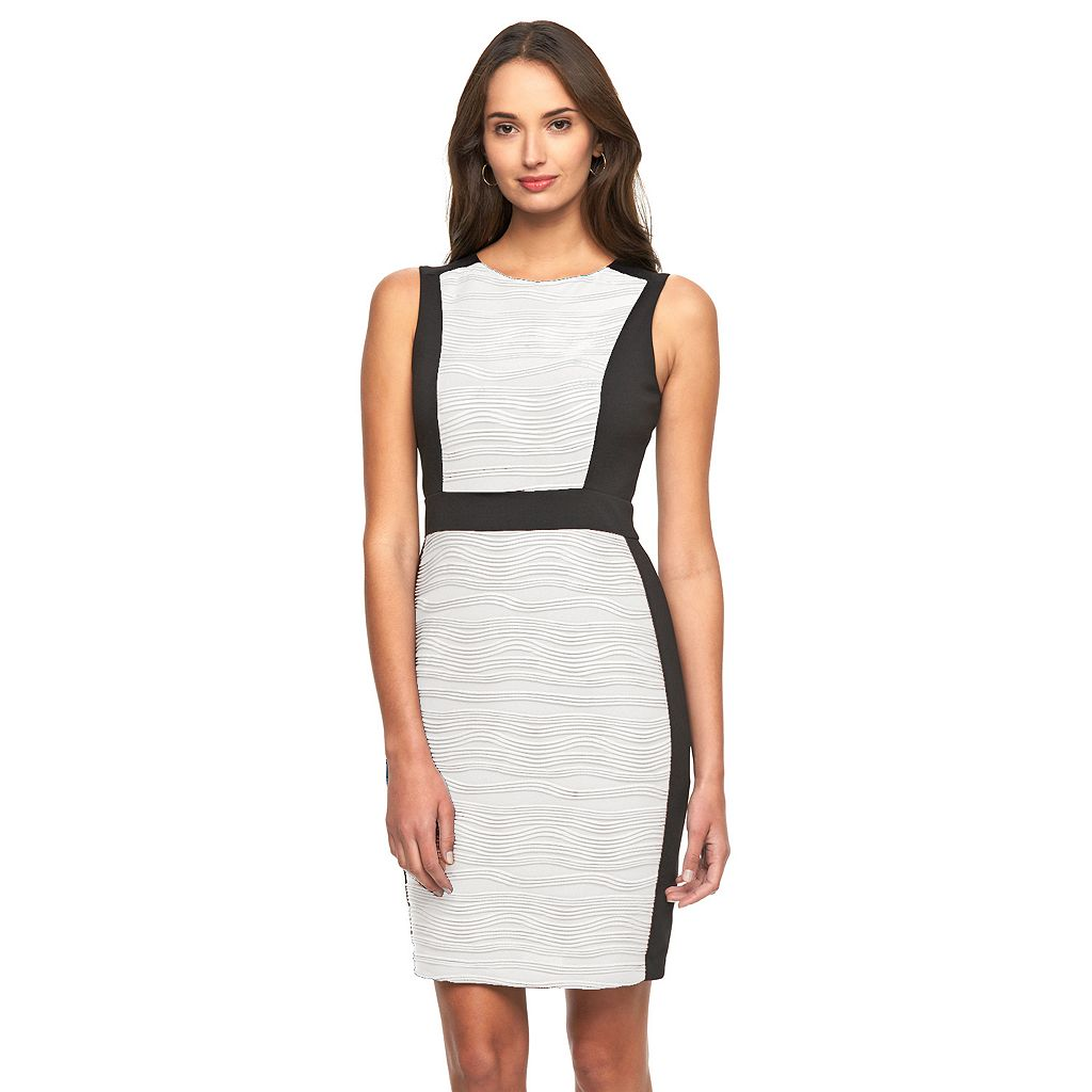 Women's Dana Buchman Colorblock Sheath Dress