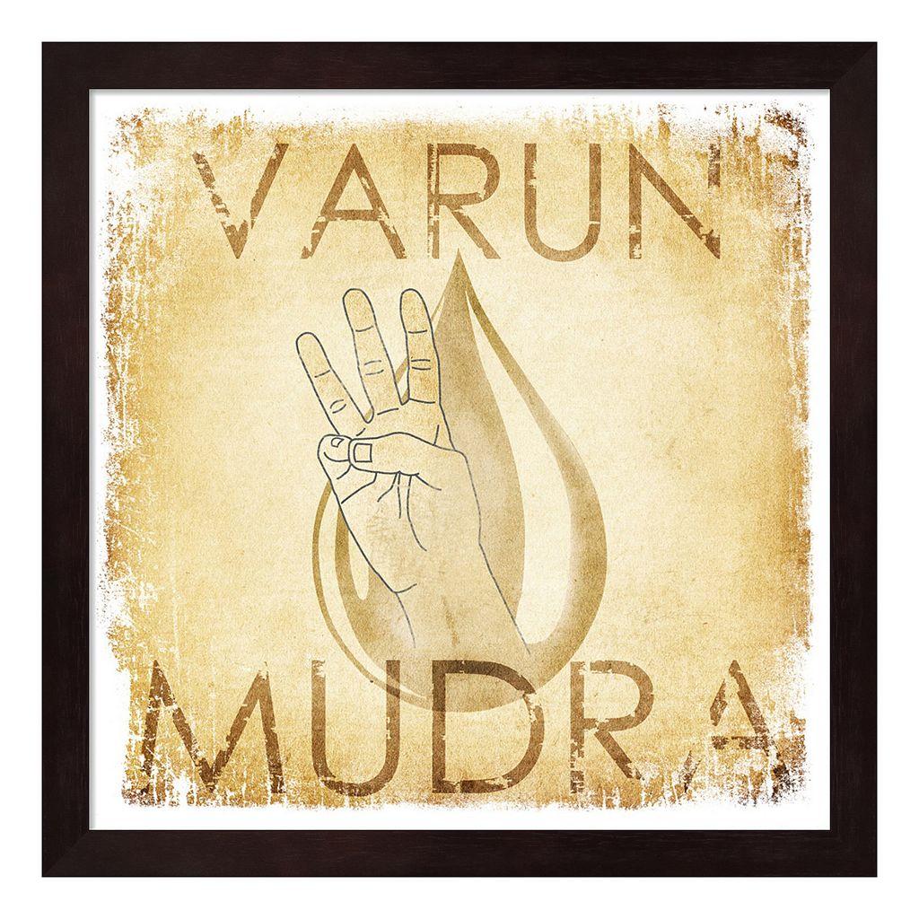 Metaverse Art Varun Mudra Water Framed Wall Art