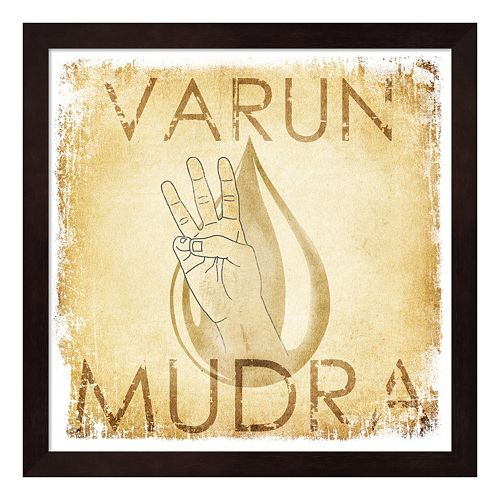 Metaverse Art Varun Mudra Water Framed Wall Art