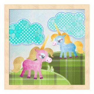 Metaverse Art Best Friends Framed Wall Art
