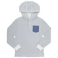 Boys 4-7 French Toast Hooded Pocket Henley