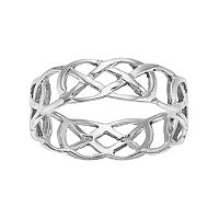 PRIMROSE Sterling Silver Celtic Knot Ring