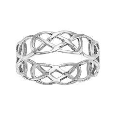 PRIMROSE Sterling Silver Celtic Knot Ring