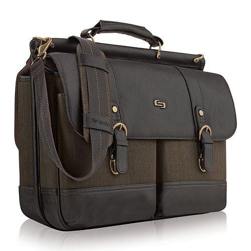 Solo Bradford Laptop Briefcase