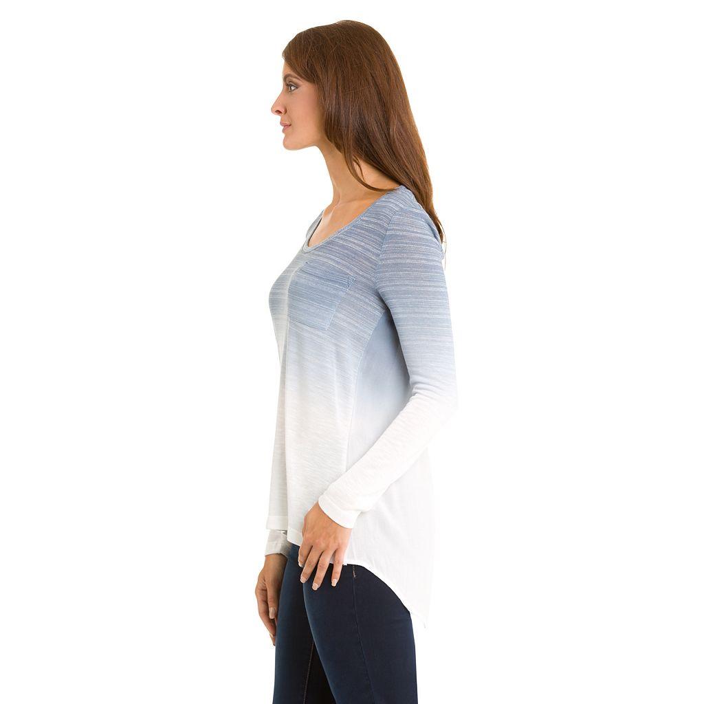 Women's Haggar Open-Back Ombre Sweater