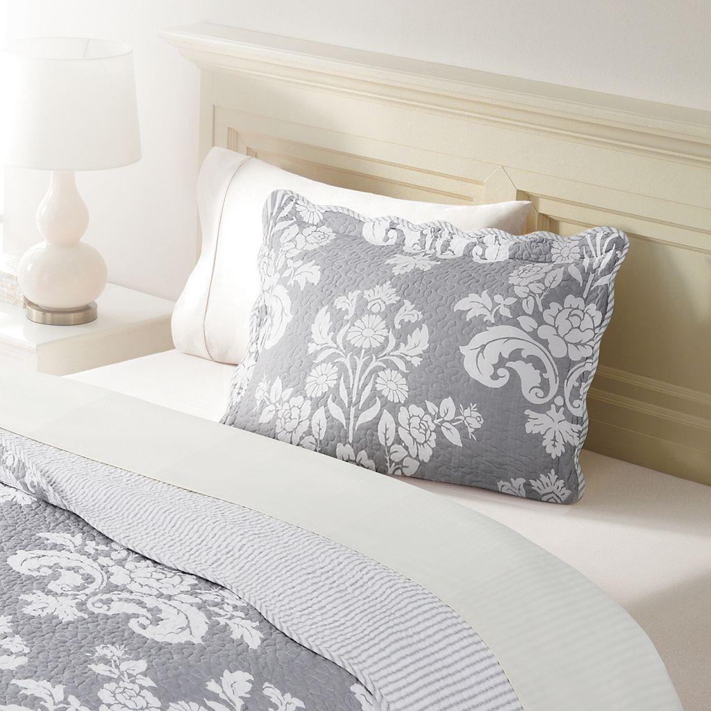 Home Classics® Sarah Gray Damask Standard Sham