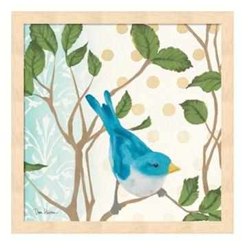 Metaverse Art Summer Bird I Framed Wall Art