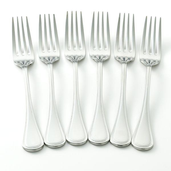 Oneida Infuse 6 Pc Dinner Fork Set
