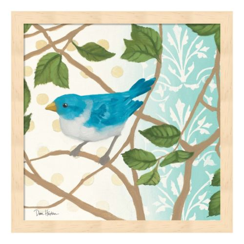 Metaverse Art Summer Bird II Framed Wall Art