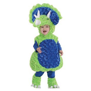 Kids Plush Triceratops Costume