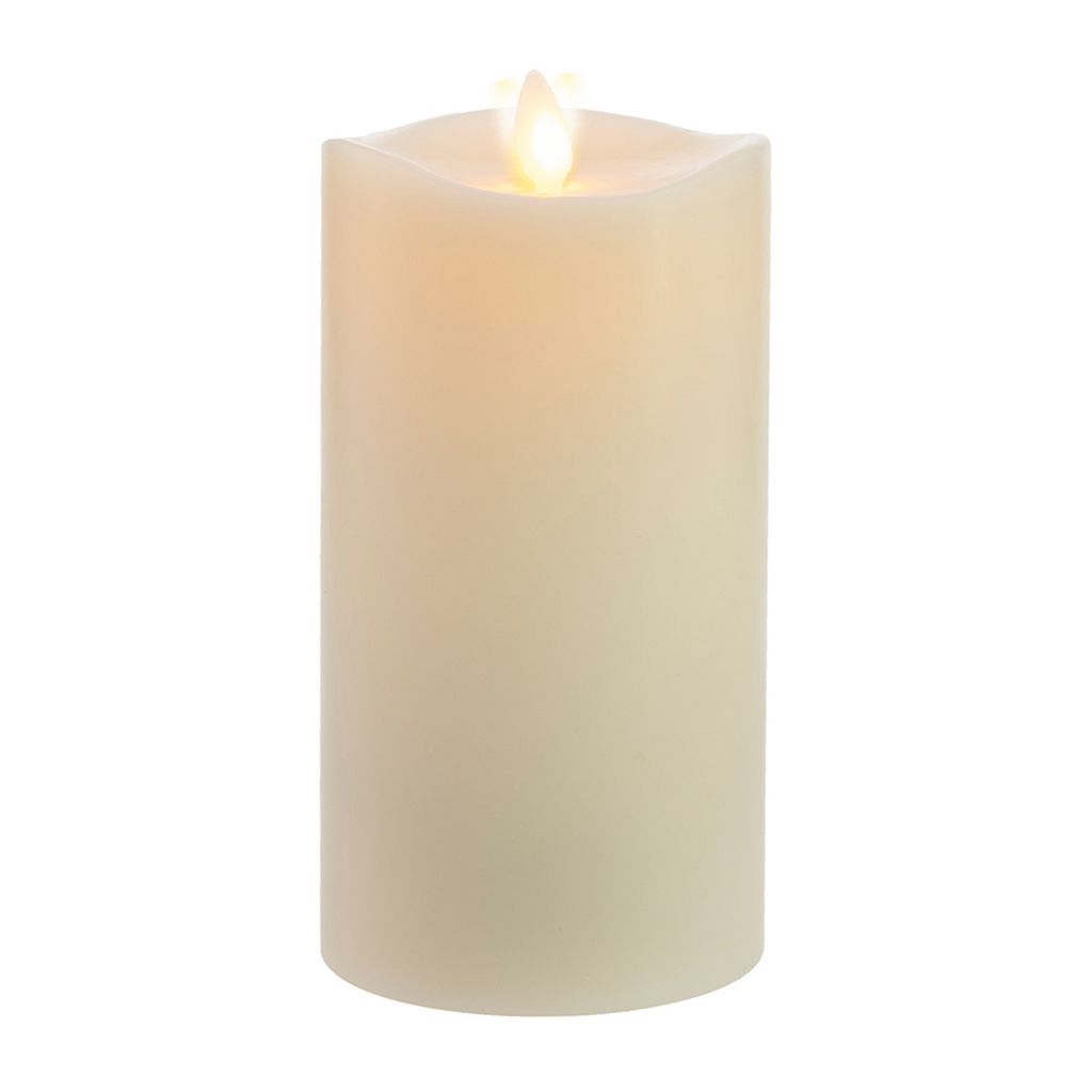 Matchless Candle Co. Moving Flame® 3.5'' x 7'' Vanilla Honey Flameless LED Candle