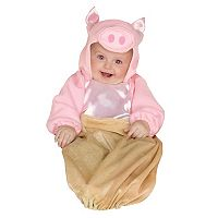 Baby Pig in a Blanket Bunting Costume