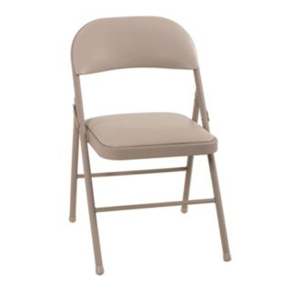 Cosco Vinyl Folding Chair 4-piece Set