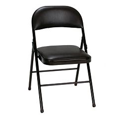 Cosco Vinyl Folding Chair 4-piece Set