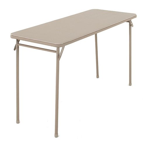 Cosco 48-inch Vinyl Top Folding Table