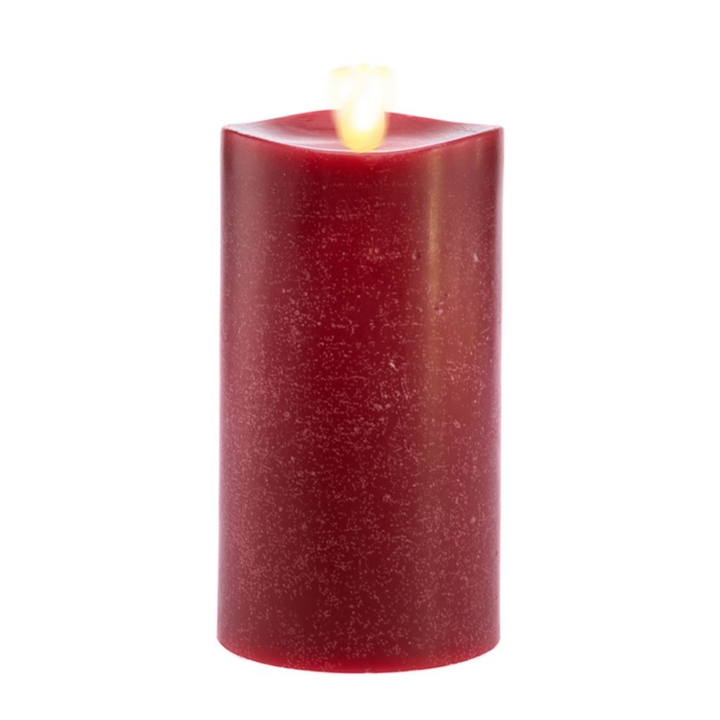 Matchless Candle Co. Moving Flame® 3'' x 4.5'' Cinnamon Bark Flameless LED Candle