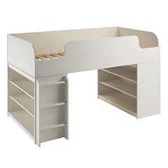 Cosco Elements 2-Bookshelf Loft Bed