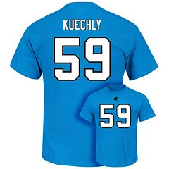 Men's Majestic Carolina Panthers Luke Kuechly Eligible Receiver Tee