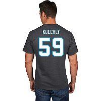 Men's Majestic Carolina Panthers Luke Kuechly Eligible Receiver Tee
