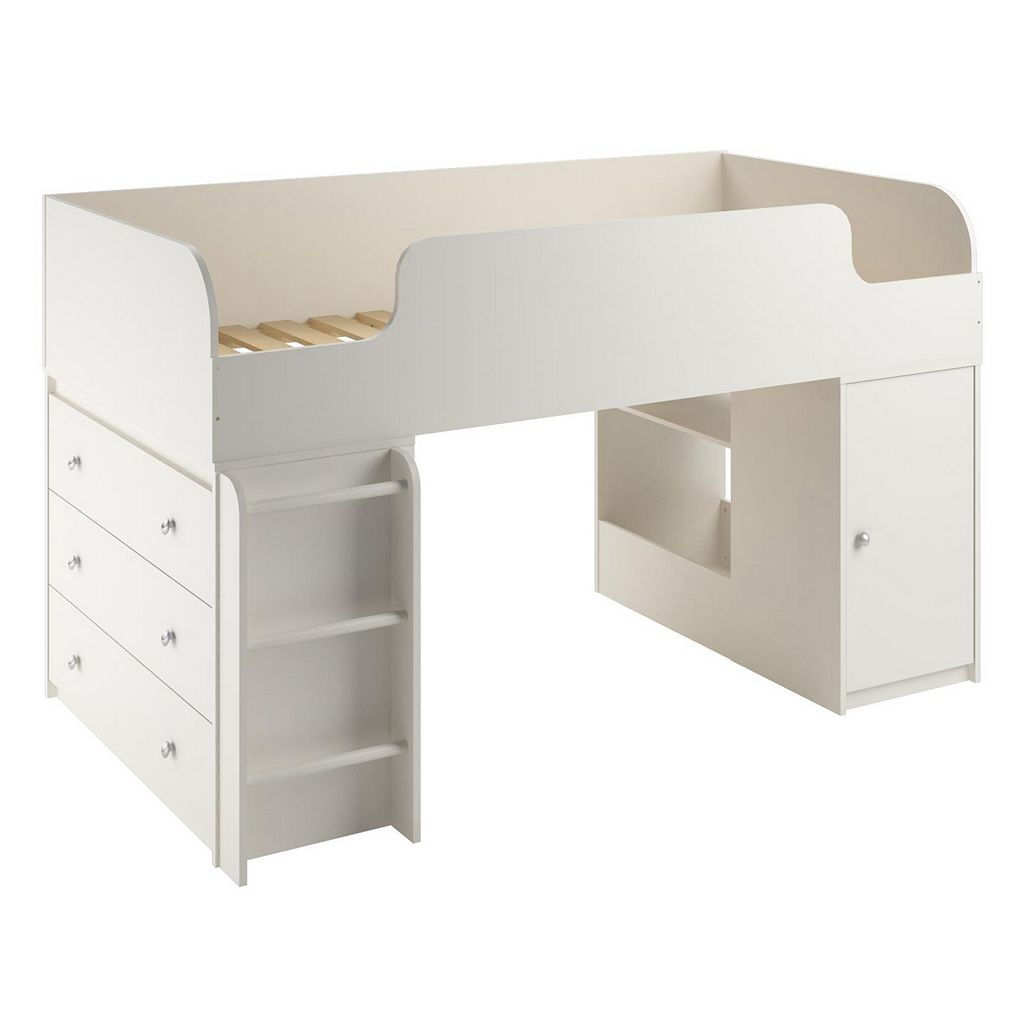 Cosco Elements Dresser & Toy Box Loft Bed