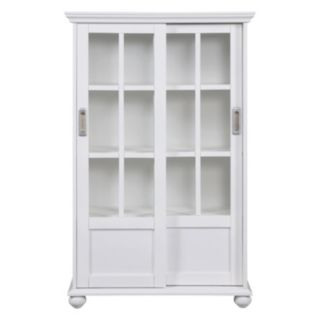 Altra Aaron Lane Sliding Door Bookshelf