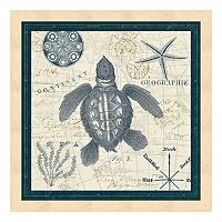 Metaverse Art Ocean Life VI Framed Wall Art