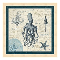 Metaverse Art Ocean Life VII Framed Wall Art