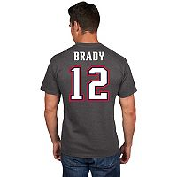 Men's Majestic New England Patriots Tom Brady Eligible Receiver Tee