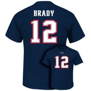 Men's Majestic New EnglandPatriots Tom Brady Eligible Receiver Tee