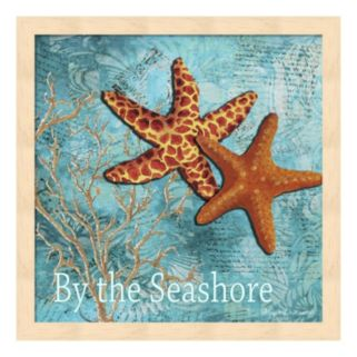 "Metaverse Art ""By the Sea Shore"" Framed Wall Art"