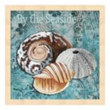 "Metaverse Art ""By the Seaside"" Framed Wall Art"