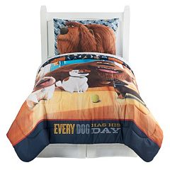 The Secret Life of Pets 'Wish You Were Here' 4 pc Reversible Twin Bed Set