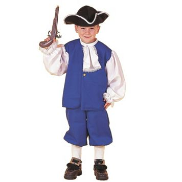 Kids Little Colonial Boy Costume