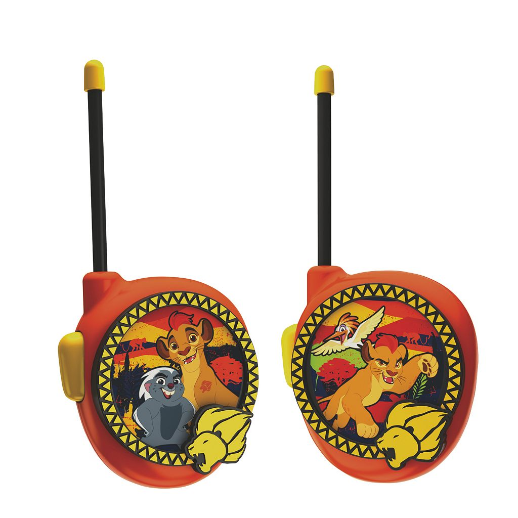 Disney's The Lion Guard Kion Walkie Talkies