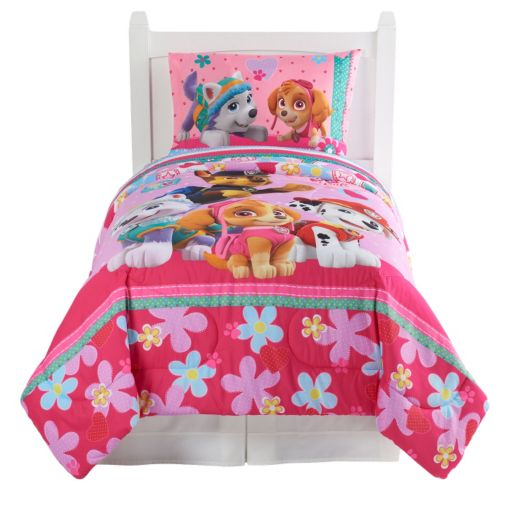 Paw Patrol Best Pup Pals Reversible Bed Set