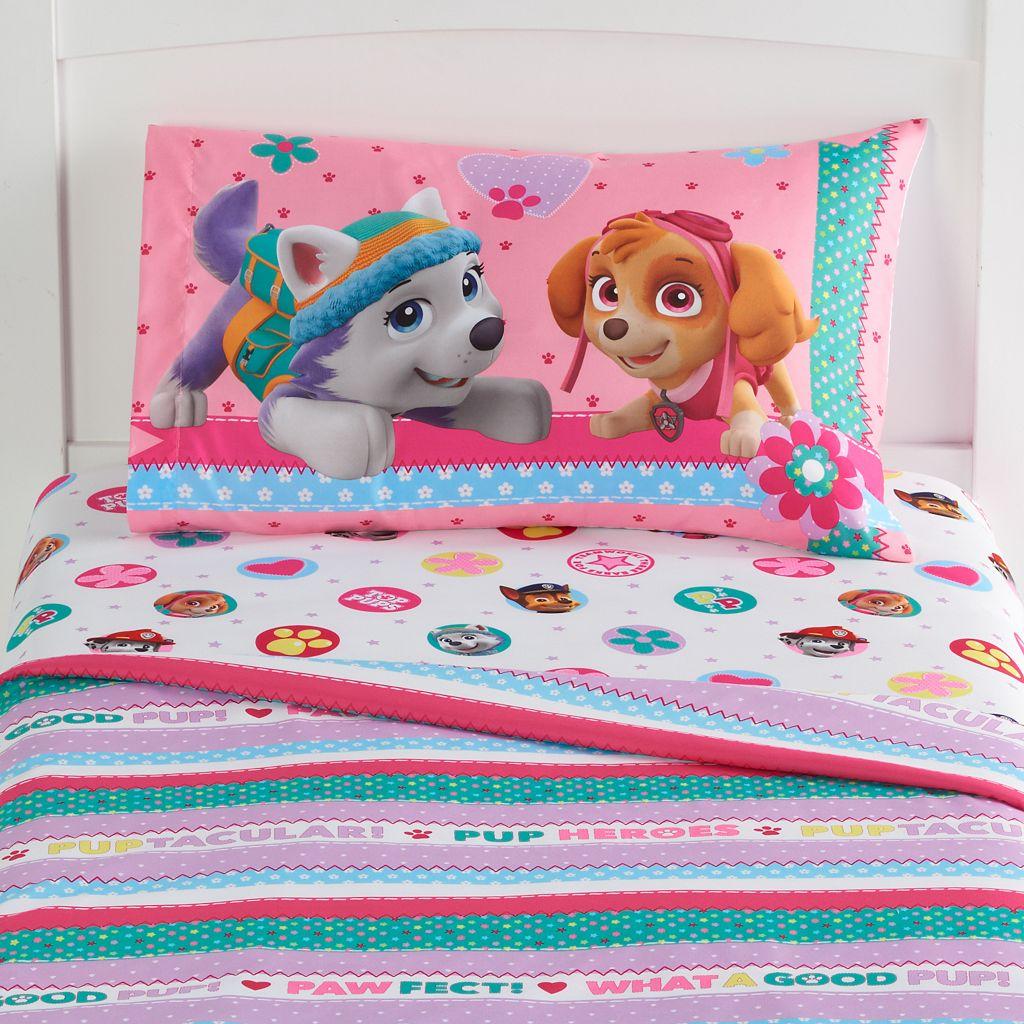 Paw Patrol Best Pup Pals Reversible Bed Set