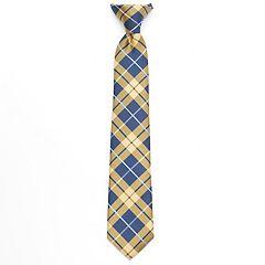 Boys Chaps Plaid Clip-On Tie