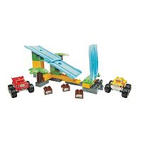 Blaze and the Monster Machines Jungle Ramp Rush Set by Mega Bloks