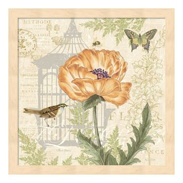 Metaverse Art Floral Nature Trail I Framed Wall Art